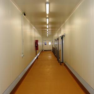 portes couloir cuisine des champs