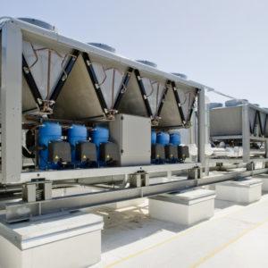 Installation climatisation - HVAC avec refroidissement